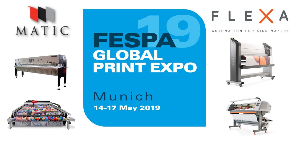 Zapraszamy na targi FESPA w Monachium – 14-17 Maj