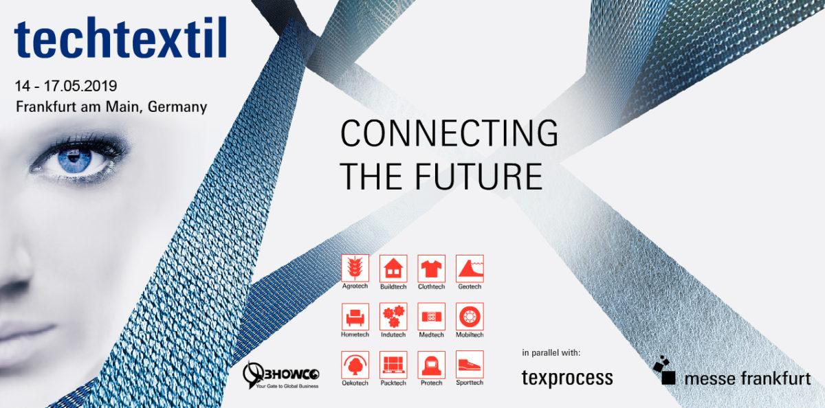 Zapraszamy na targi Techtextil 2019